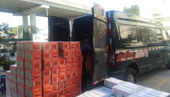 貨拉拉為上海團市委公益運輸抗疫物資 援助一線抗疫工作